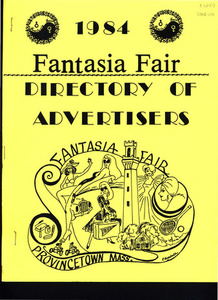 Fantasia Fair Directory of Advertisers (1984)
