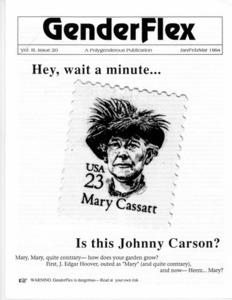 GenderFlex, Vol. 3 Issue 20 (Jan/Feb/Mar 1994)