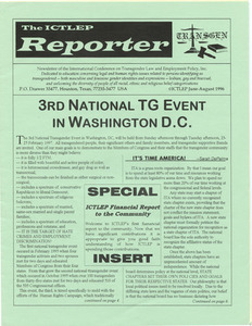 The ICTLEP Reporter (June-August 1996)