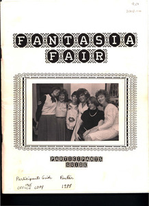 Fantasia Fair Participants' Guide (Oct. 13 - 23, 1988)