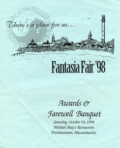 Fantasia Fair: Programs, Participant Guides, and Directories