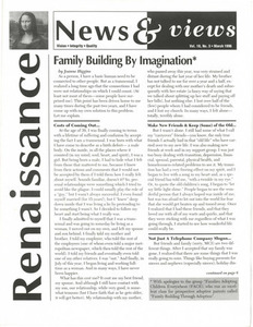 Renaissance News & Views, Vol. 10 No. 3 (March 1996)