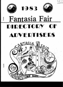 Fantasia Fair Directory of Advertisers (1983)