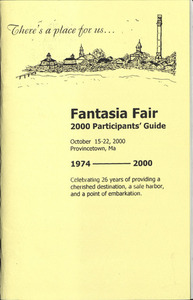 Fantasia Fair 2000 Participants' Guide (October 15-22, 2000)