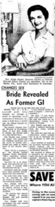 Bridge Revealed As Former GI