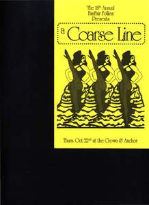 FanFair Follies Program: a Coarse Line (Oct. 22, 1992)