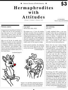 Hermaphrodites with Attitude, Vol. 1 No. 1 (Winter, 1994)
