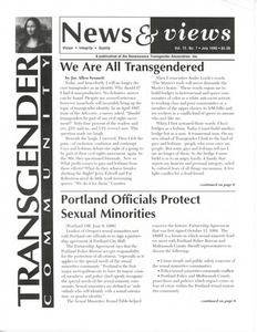 Renaissance News & Views, Vol.12 No.7 (July 1998)