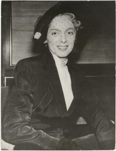 Christine Jorgensen at a Press Conference