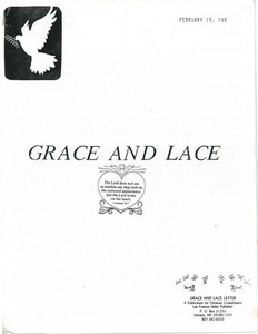 Grace and Lace Letter: A Publication for Christian Crossdressers