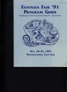 Fantasia Fair Program Guide (Oct. 18 - 27, 1991)