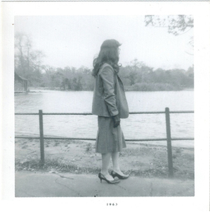 Alison Laing Looks Onto Lake