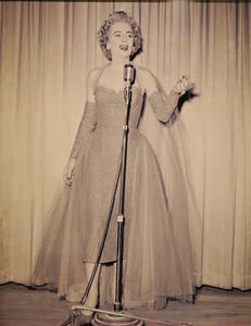 Christine Jorgensen Performs on Stage at the Silver Slipper