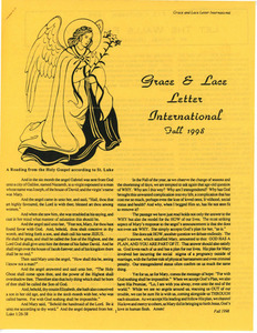 Grace and Lace Letter International (Fall 1998)