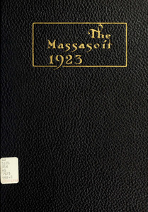 Springfield College Yearbook, 1923