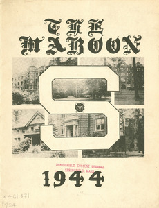 Springfield College Yearbook, 1944