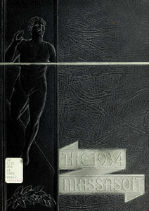 Springfield College Yearbook, 1934