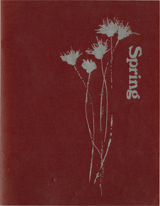 The Spring section of the 1970 Springfield College Yearbook