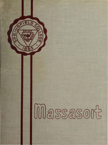 Springfield College Yearbook, 1957