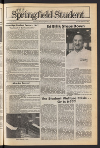 The Springfield Student (vol. 100, no. 11) Feb. 6, 1986