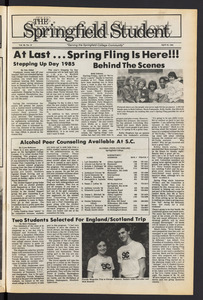 The Springfield Student (vol. 99, no. 10) Apr. 18, 1985