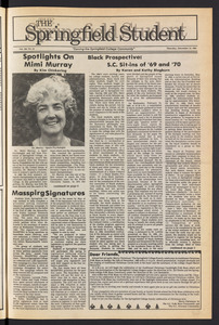 The Springfield Student (vol. 100, no. 10) Dec. 12, 1985