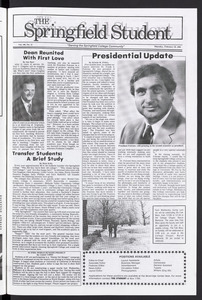 The Springfield Student (vol. 100, no. 13) Feb. 20, 1986