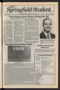 The Springfield Student (vol. 100, no. 3) Oct. 10, 1985