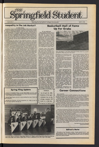 The Springfield Student (vol. 99, no. 9) Apr. 11, 1985