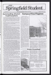 The Springfield Student (vol. 100, no. 14) Feb. 27, 1986