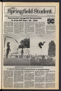 The Springfield Student (vol. 98, no. 3) Sept. 27, 1984