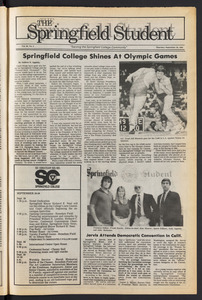 The Springfield Student (vol. 98, no. 2) Sept. 20, 1984