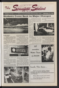The Springfield Student (vol. 112, no. 1) Sept. 12, 1997
