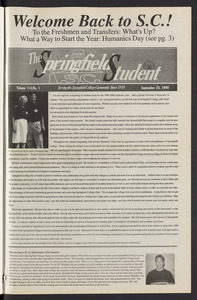 The Springfield Student (vol. 114, no. 1) Sept. 24, 1999