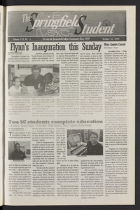 The Springfield Student (vol. 114, no. 5) Oct. 22, 1999