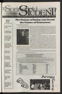 The Springfield Student (vol. 115, no. 3) Sept. 29, 2000