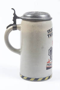 A stoneware stein for 1923 MunichTurnfest