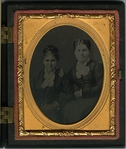 Nancy Smith and 'Aunt Abby' (probably Abigail Scott, daughter of Rufus Porter Scott)