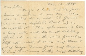 Letter from Brainerd Taylor to James B. Taylor