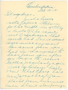 Letter from Clinton T. Brann to Rhea Oppenheimer