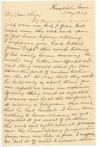 Letter from Martha Brann to Rhea Oppenheimer