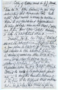 Letter from Eleanor T. C. Foote to A. J. Muste
