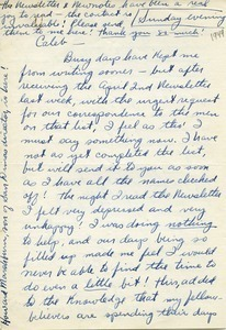 Letter from Don Scarlet to Caleb Foote