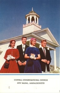 Program for the baccalaureate Sunday service for the New Salem Academy class of 1963