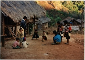Young boys in Southern Thai village