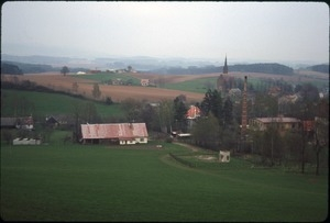 Czech Republic countryside and village