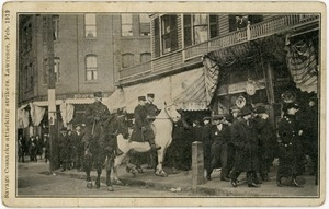 Savage Cossacks attacking strikers, Lawrence, Feb. 1919