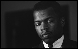John Lewis at the Youth, Non-Violence, and Social Change conference, Howard University