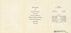 Invitation for New Salem Academy 1949 commencement ceremonies