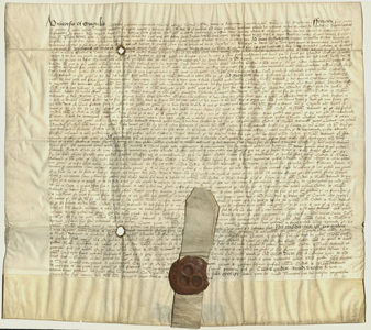 Exemplification of letters of Queen Mary and King Phillip, 1558 November 5